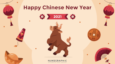 Embracing the Year of the Metal Ox! Happy Chinese New Year 2021!